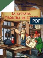 Comic 08 La extraña máquina de libros - Geronimo Stilton.pdf
