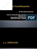 El Poder Constituyente Power Point