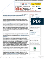 Widening Access to Educational Resources _ Economic and Political Weekly