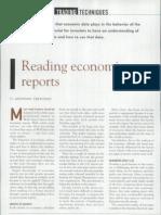 Reading economic reports