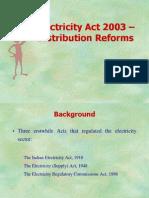 Jammu   Electricity Act 2003 – Distribution Reforms1