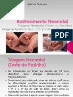 Rastreamento Neonatal