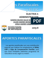 Aportes Parafiscales y Fic, Admon[1]