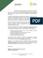 Resolucion Para Usuarios 2013. Aprobacion Base de Datos.