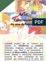 Arte construcción de una definición 1