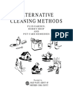 Alternative Cleaning Methods