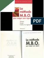 La Methode m b o Pour Maigrir Sans Regime