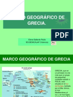 MARCO GEOGRÁFICO DE GRECIA