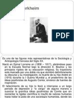 Emile Durkheim (Sobre Suicidio Hacia El Final)