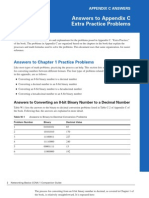 Networking Basics CCNA 1 Companion Guide - Appendix C Answers