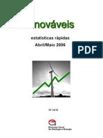 Portugal, Fontes de Energias Renováveis - 2006