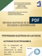 Metodos Geofisicos de Exploracion Para La Geohidrologia