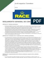 RACE Corredores Emergencias