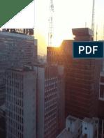 Pôr do sol no alto da Av. Paulista 2013 3