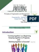 Team Building Vishwas