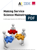Service Science Summit White Paper
