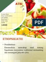 Etnopsikiatri - ANTROPOLOGI