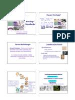 Histologia - introdução - 1