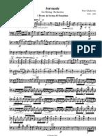 Tchaikovsky Serenade for Strings Cello