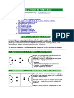 Táctica General de Futbol Sala
