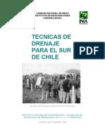 Técnicas de Drenaje para el Sur de Chile