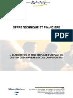 Dossier Technique Financiere Plan de carrière