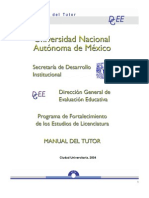 tutorias UNAM