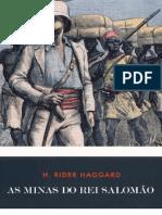As Minas Do Rei Salomao - Henry Rider Haggard