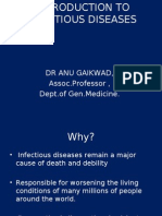 Introduction to Infectious Diseases by dr Gaikwad sir 2
