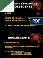 6. Crecimiento y Desarrollo Adolescente