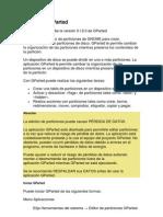 Manual de GParted