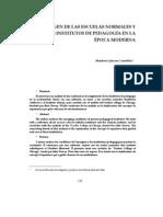 origen de las escuelas normales.pdf