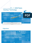 GSM Radio Interface Technology