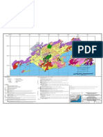 Mapa Geológico da Região Metropolitana Expandida do Rio de Janeiro e Localização das Pedreiras (2006)