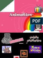 Animasi- animasi dalam persembahan multimedia