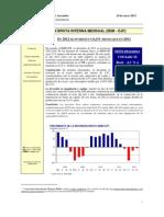 (2013-01-24) - Notoria caída para la inversión en 2012 - En 2012 se invirtió un 6,4% menos que en 2011