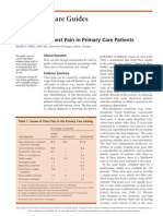 Evaluation of Chest Pain in Primary Care Patients-AAFP