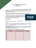 Modelo de Informe Evaluacion Hospitales 2011