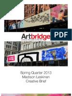 ArtBridge Campaign