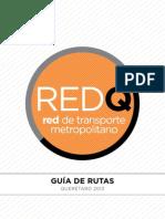 RedQ Guía de rutas