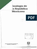24- Geología de la República Mexicana