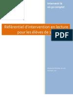 Referentiel Lecture 10-15 Ans 1