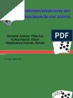 Implementación de Blackjack en Java