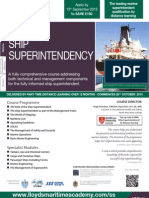 FLP2332HA101 Diploma in Ship Superintendency Prospectus