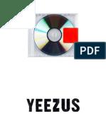 Digital Booklet - Yeezus
