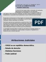 atribuciones judiciales