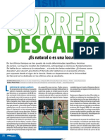 Atletismo. Correr Descalzo Sportraining Ene Feb 2012