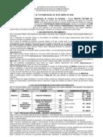 EDITAL Concurso Publico SEDUC.ro - Administrativo - FUNCAB