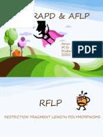 RFLP, RAPD & AFLP
