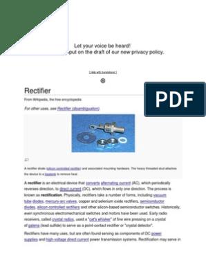 pdf Mercury ARC Power Rectifiers